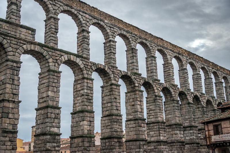 Roman Aqueduct Segovia, Spain