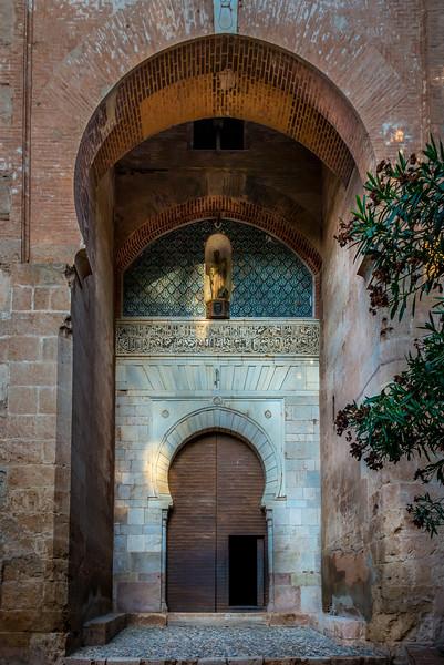 Justice Gate Entrance to The Alhambra, Granada