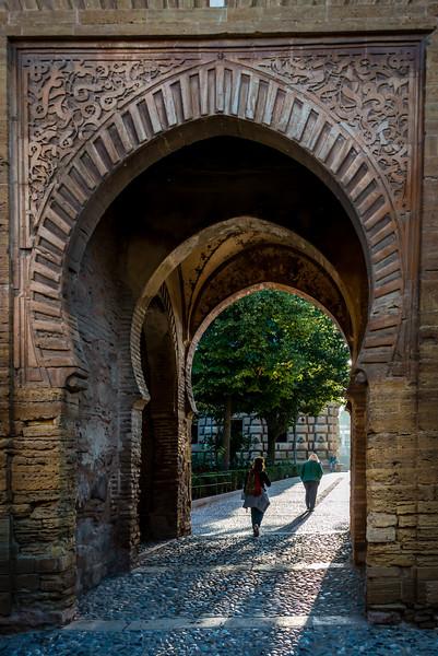 Inner Courtyard, The Alhambra