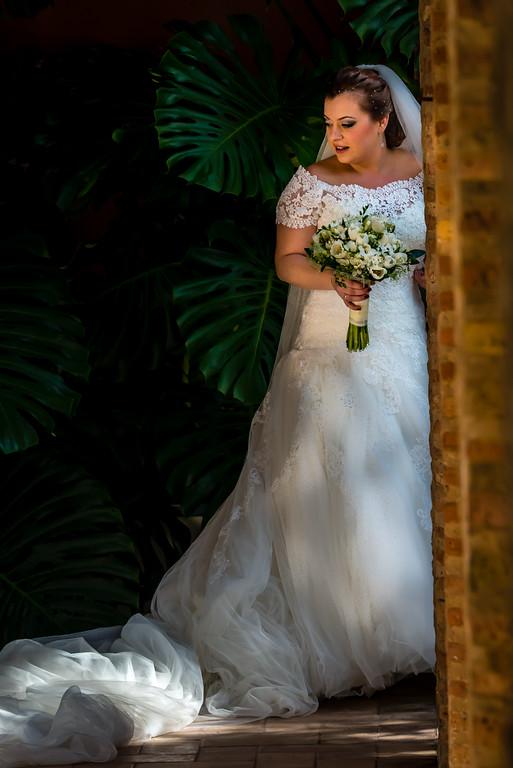 Wedding in the Alcazar Garden