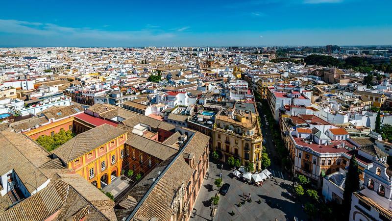 Sevilla from Giralda Bell Tower