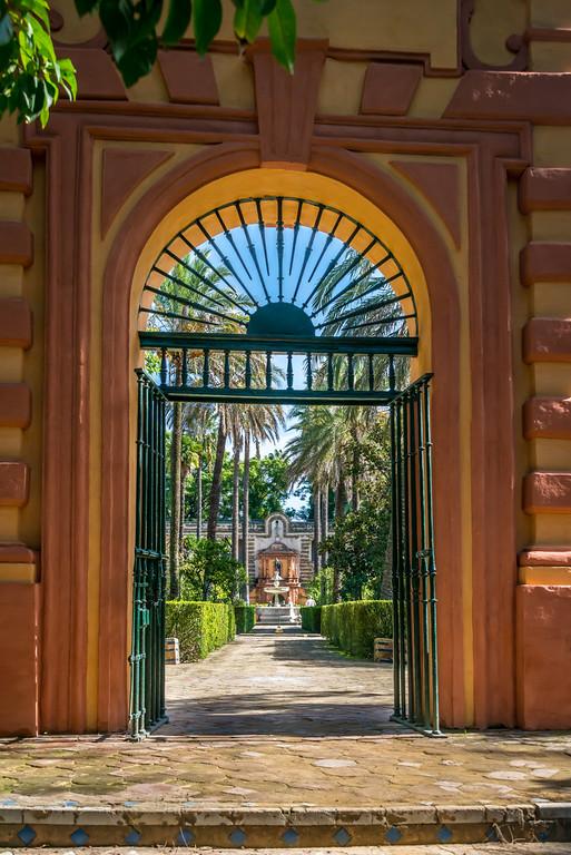 Garden Entrance, Alcazar