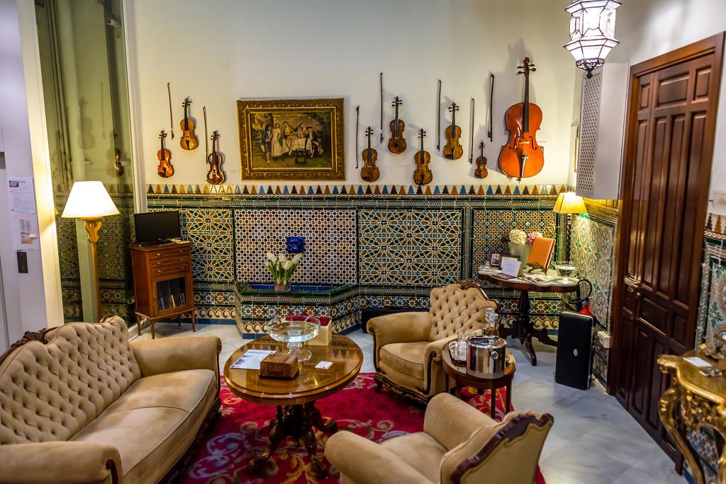 Hotel Lobby, Sevilla