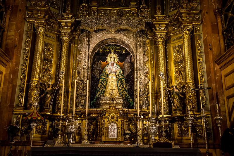 Weeping Virgin Mary Statute, Basilica de la Macarena