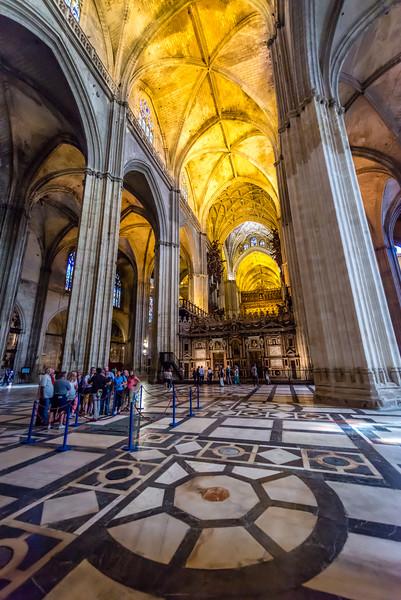 Sevilla Cathedral circa 1404