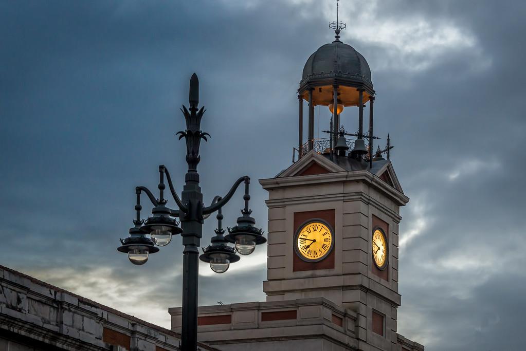 Puerta Del Sol Madrid, Spain