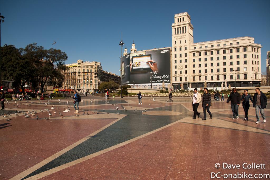 Big (main?) square in Barcelona