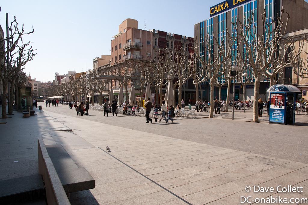 Main square of Mataro