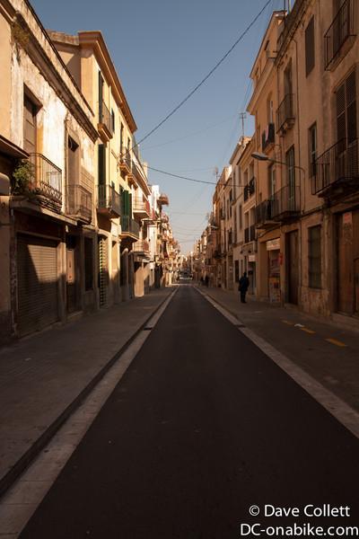 Cute streets in Mataro