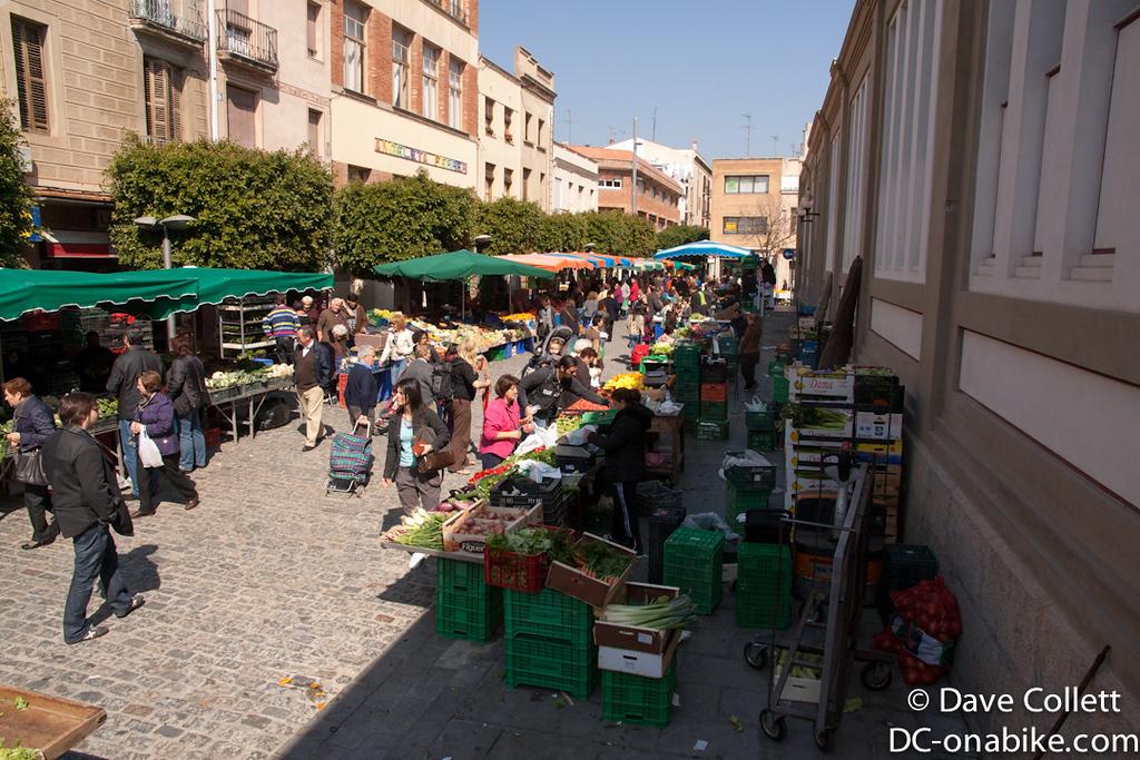 Fruit & Vege Market in Mataro