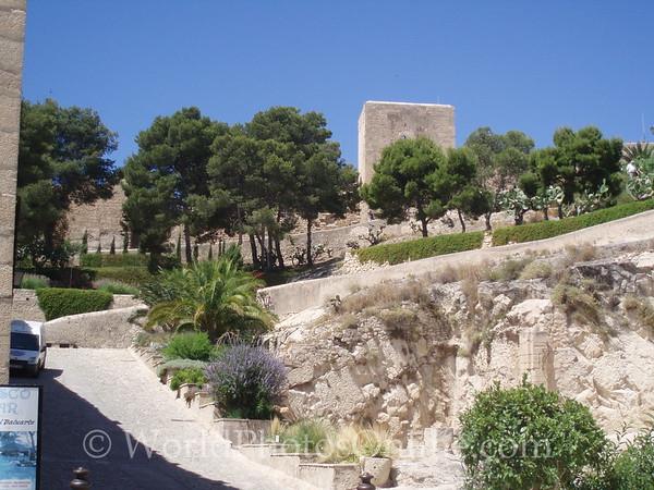 Castillo de Santa Barbara - Interior Grounds