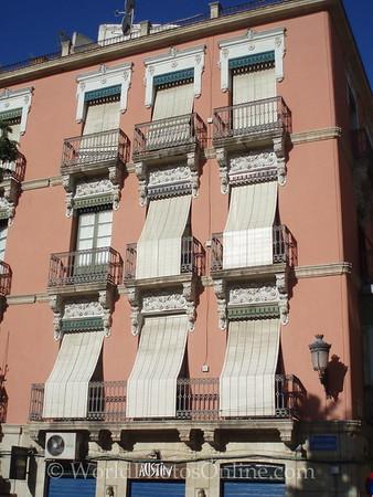 Traditional Building Facade