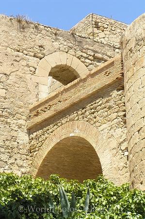 Castillo de Santa Barbara - Arch to Upper Keep 2