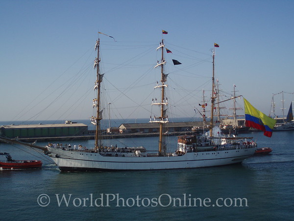 Tall Ships Race 2007 - Alicante 1