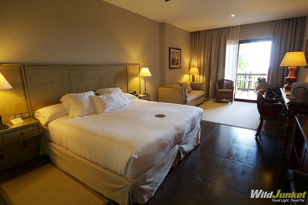 Spacious, luxurious rooms