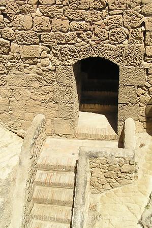 Castillo de Santa Barbara - Door and Stairs