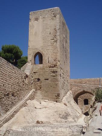 Castillo de Santa Barbara - La Torreta (Upper Keep Tower)