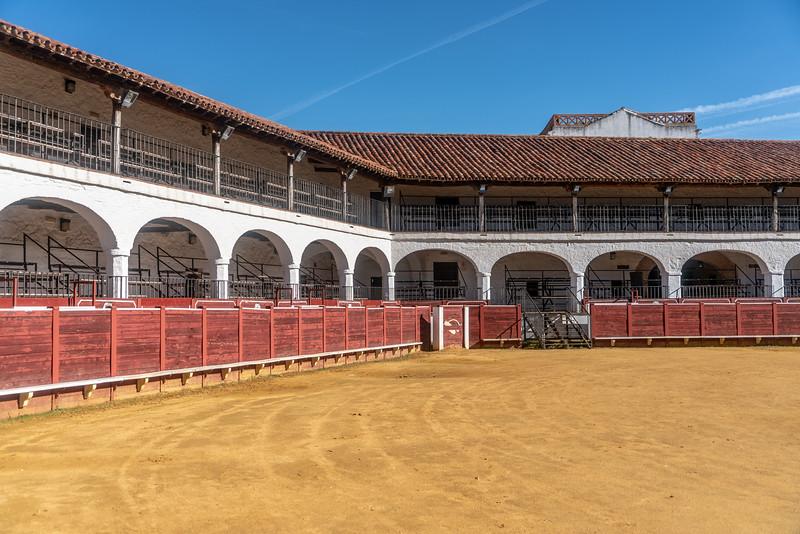 Plaza del Toro in Almadén