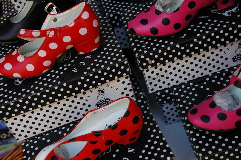 Children's Flamenco Shoes - Andalusia, Spain