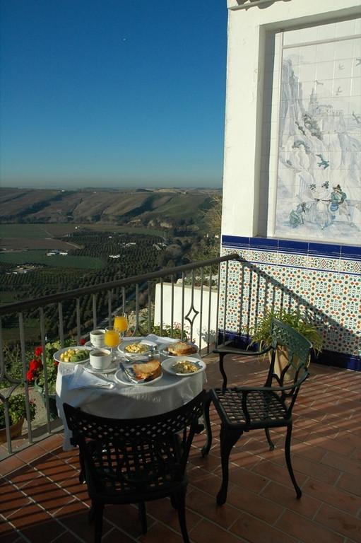 Breakfast on Patio - Arcos de la Frontera, Spain