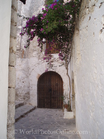 Eivissa - Dalt Vila - Street in Old Quarter
