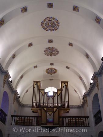 San Josep - Church of Sant Josep - Nave Ceiling & Organ