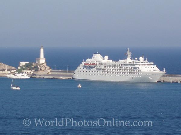 Eivissa - Silver Wind in Port