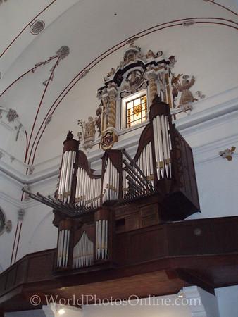 Eivissa - Dalt Vila - Cathedral - Pipe Organ
