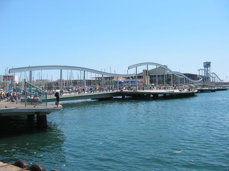 Barcelona waterfront, 2004