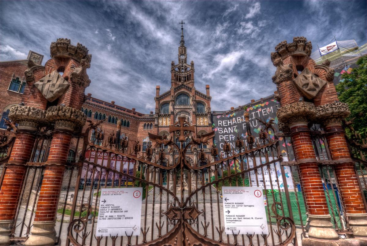 UNESCO World Heritage Site #115: Palau de la Música Catalana and Hospital de Sant Pau, Barcelona