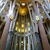 Sagrada Familia cathedral (interior)