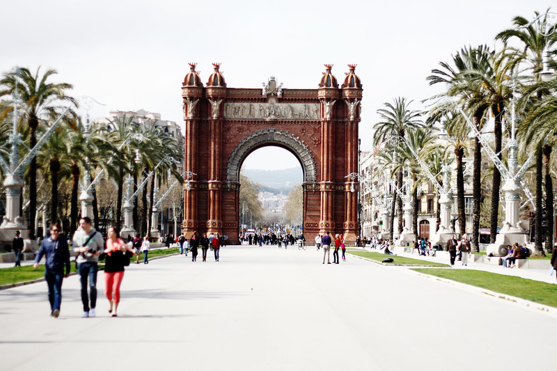 Arc de Triomf. March 2013