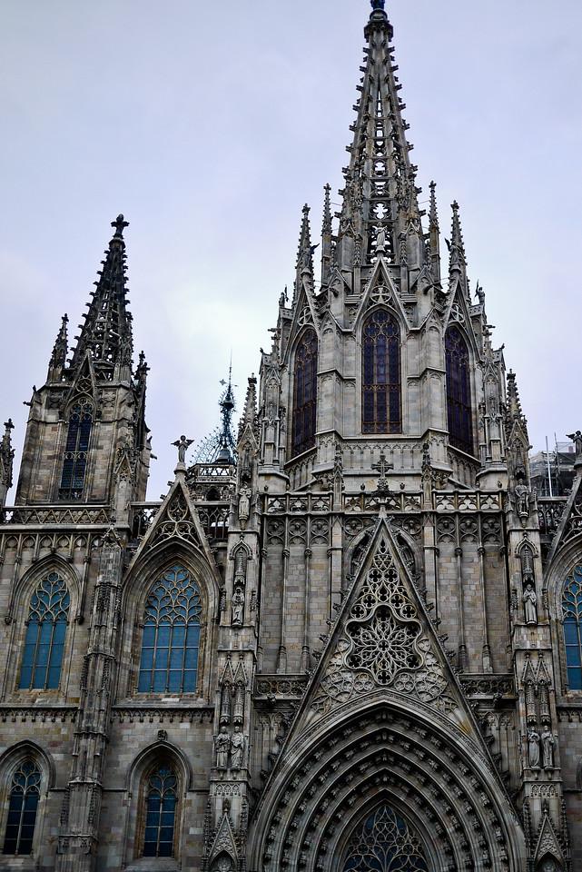 Santa Maria del Mar in Barcelona, Spain.