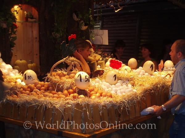 Mercat de la Boqueria - City Market - Eggs