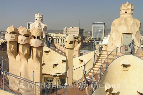 Barcelona - La Pedrera - Roof 1