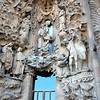Close up Sagrada Familia exterior