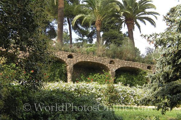 Barcelona - Parc Guell - Terrace
