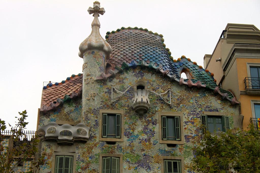 Casa Batlló by Gaudi - Barcelona, Spain - Photo