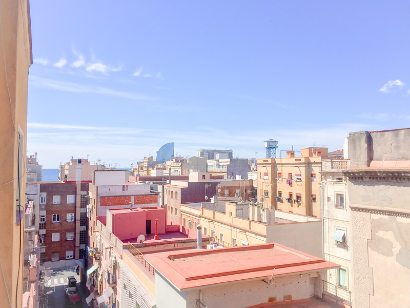 Barceloneta的观点