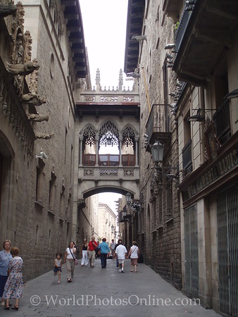 Palau de la Generalitat - 'Cross Building' Bridge