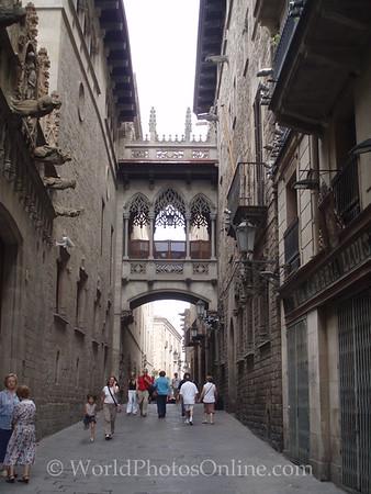 Palau de la Generalitat - 'Cross Building' Bridge