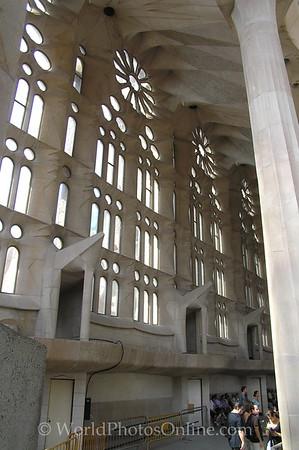 Barcelona - Sagrada Familia - Windowed Wall
