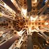 Ceiling Sagrada Familia