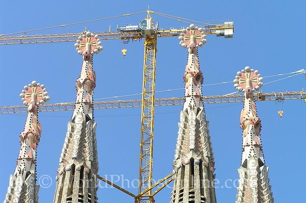 Barcelona - Sagrada Familia - South Towers