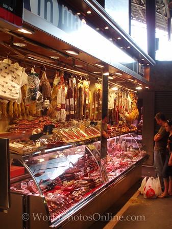 Mercat de la Boqueria - City Market - Meat