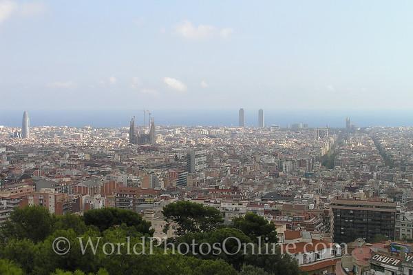 Barcelona - Viewed from Tibidabo
