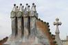Barcelona - Casa Batllo - Chimneys