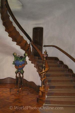 Barcelona - Casa Batllo - Entry Stairs