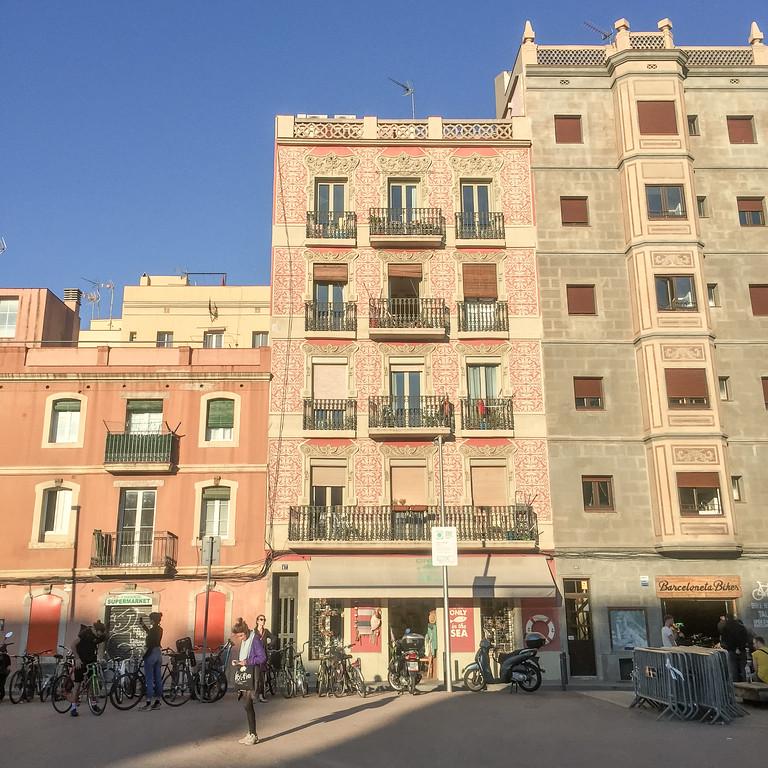 Barceloneta建筑