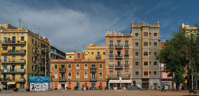 La Barceloneta neighborhood, Barcelona